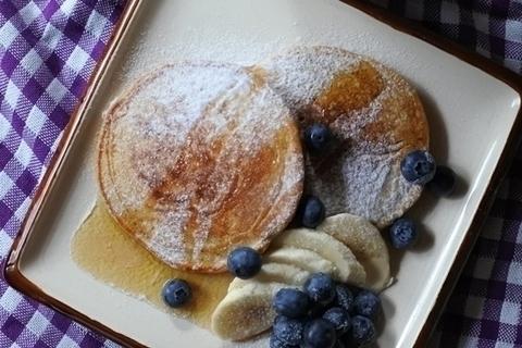 パンケーキなのにヘルシー! もちっ・さくっな食感に感動【天然酵母のパンレシピ#10】