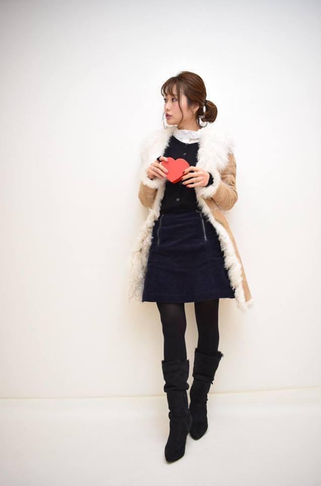 プロ直伝! 「バレンタイン × ロングブーツ」の大人っぽコーデ3選