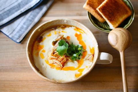 3分でできる! 台湾の定番朝ごはん「鹹豆漿(シェントウジャン)」の作り方