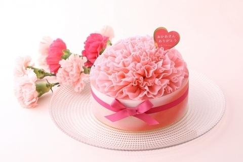 母の日におすすめ。華やかな「カーネーションケーキ」