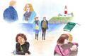 映画『男と女、モントーク岬で』感想。NYを舞台に味わい深い人生のアンサンブル!