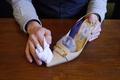 エナメル靴のお手入れ方法(簡単)
