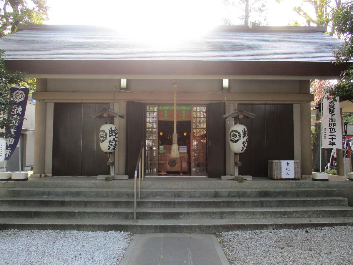 東京の白蛇さま「蛇窪神社(上神明天祖神社)」【巫女ライターの神社と御朱印めぐり#1】
