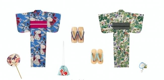 KEITAMARUAYAMAが2018年新作浴衣を発表