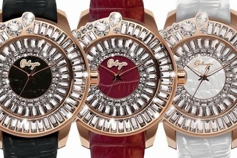 スワロフスキーがゴージャスなガルティスコピオの新作時計