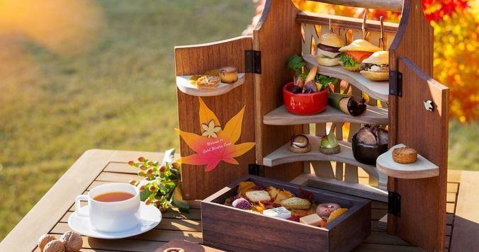 星野リゾート、軽井沢で楽しめる「森のアフタヌーンティー・秋」を提供