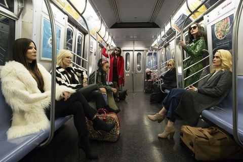 NY、メット・ガラ、カルティエ。『オーシャンズ8』はファッション好き女性必見!