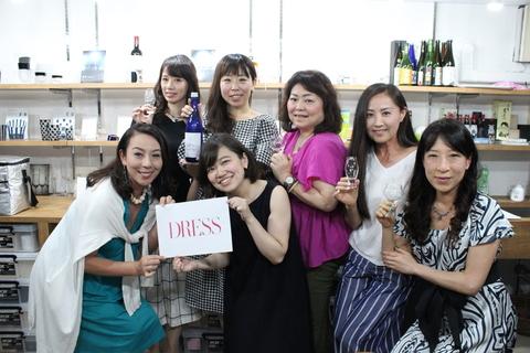 女性が毎日気軽に楽しめる日本酒を。日本酒と酒器のペアリング会をレポート