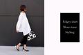 デザインドレス並みの存在感。コム・デ・ギャルソンの極上白シャツを主役にする日