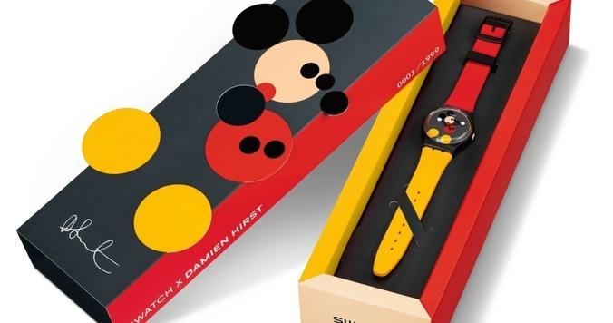 祝ミッキーマウス生誕90周年、限定アートウォッチをスウォッチが販売開始