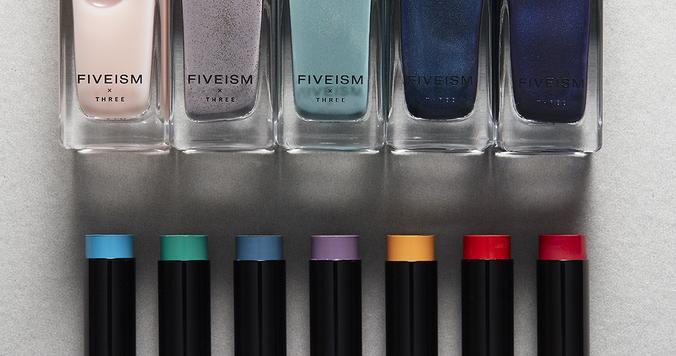 THREE×FIVEISMから爪を守り、爪を彩る新作ネイルカラーが登場