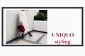 UNIQLOクレーププリーツスカート×ざっくりニットで叶えるフェミニンスタイル
