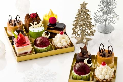 大人に嬉しいクリスマスケーキ。「少しずついろいろ」食べられるケーキが登場