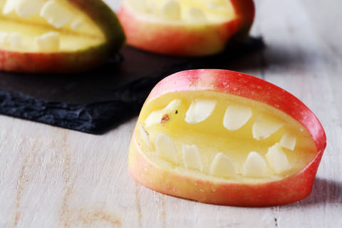 いつもの朝「りんごでサプライズ」を仕掛けるアイデアが話題に