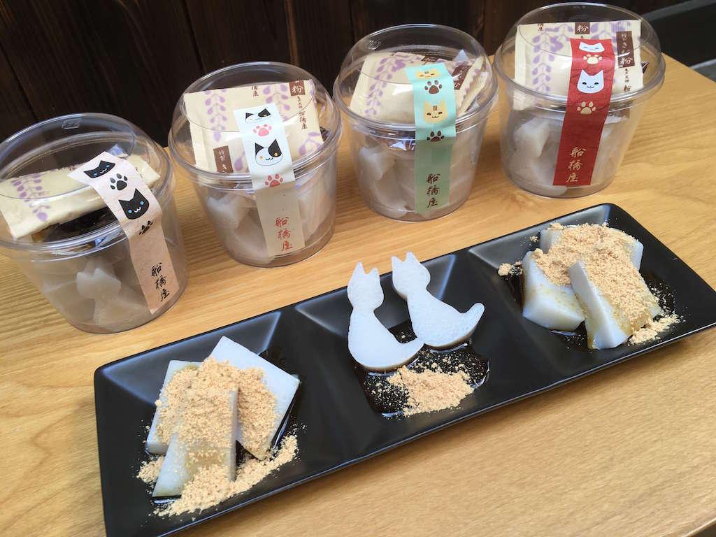 猫の日にちなんだ「ねこくず餅」を船橋屋で限定発売