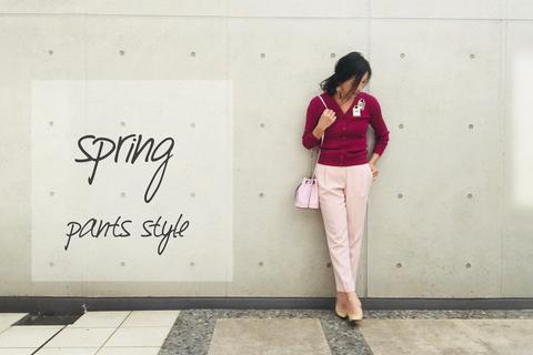 """今春のワントーンコーデは""""きれい色""""で! 桜ピンクで作る大人の微甘コーデ"""