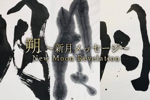 4月の新月メッセージ「もう一度、生まれる体験をする」