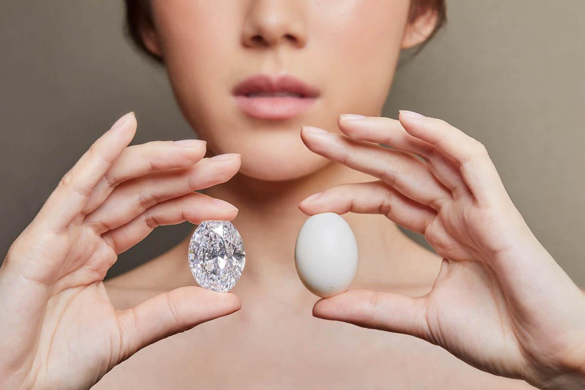 日本人が15億円超で88.22カラットのダイアモンドを落札