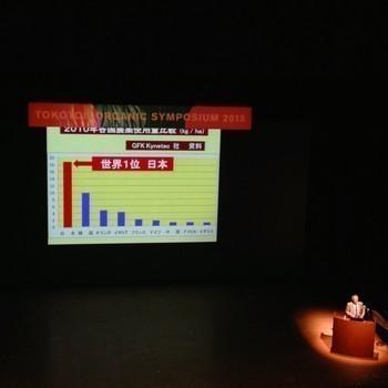 日本は世界一の農薬使用国。