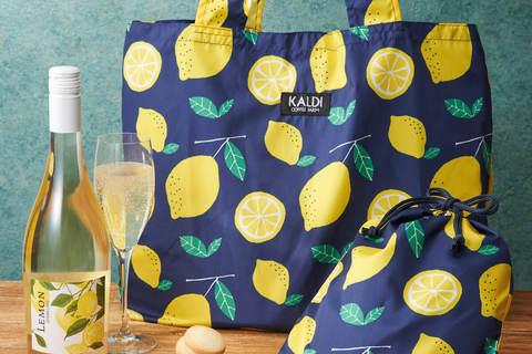 カルディから鮮やかな「レモンバッグ」が数量限定発売に!
