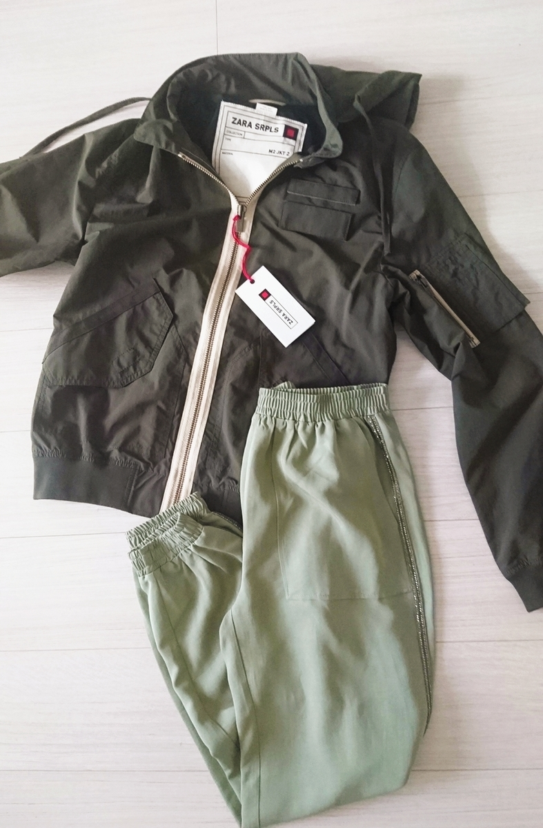 ZARAのジョガーパンツでマンネリ打破! 女性らしい素材感とデザインがうれしい