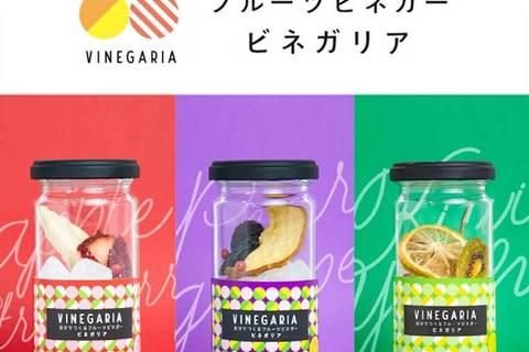 フルーツビネガーを自作! 好きな酢を入れるだけのキットが発売