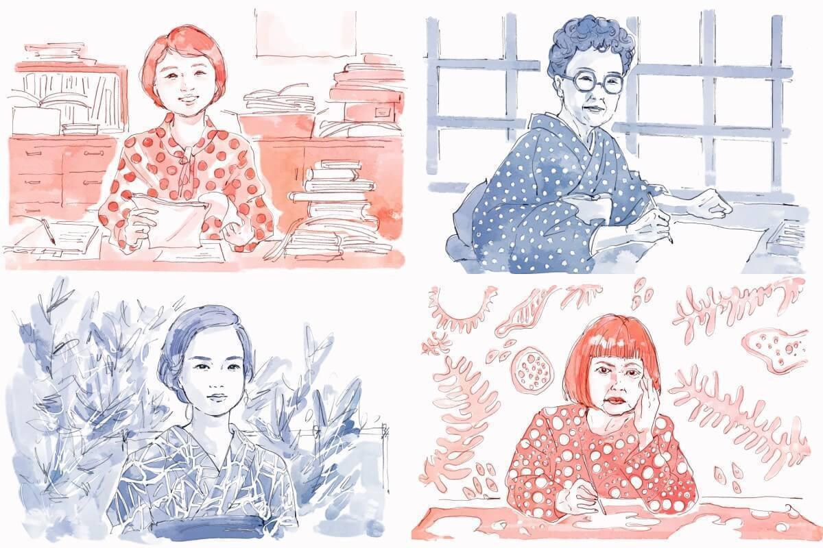 10月特集「冷静と情熱の女たち」