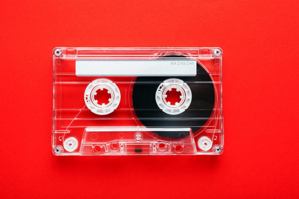 平成生まれは知らないカセットテープ