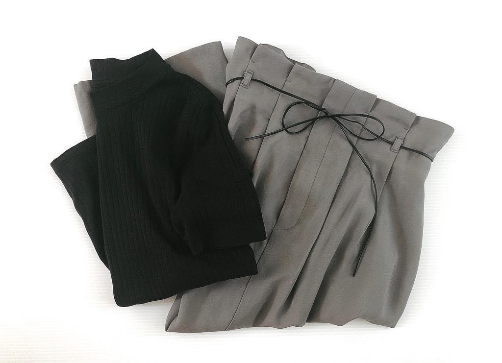 トレンドライクなGUの「ナロースカート」