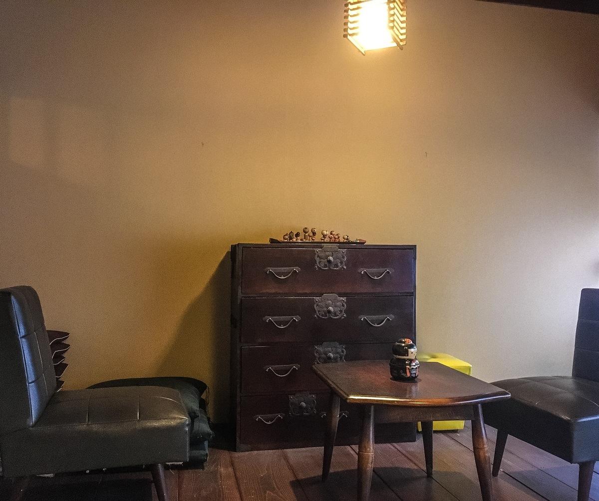 リサイクル着物も扱うカフェ