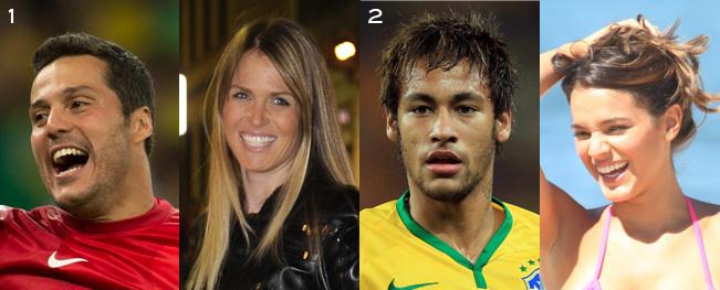 ブラジル代表のお嫁さん