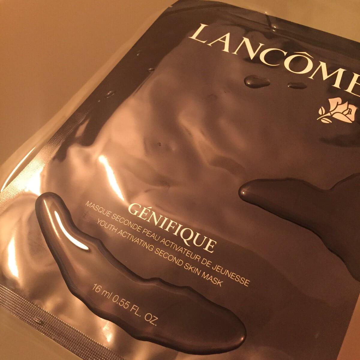 ■大切な日に備えて必ず使いたい、ランコムのジェニフィックマスク