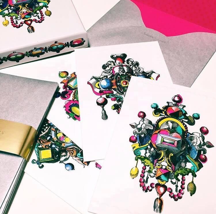 ■プレゼントには、素敵なデザインの手紙を添えて
