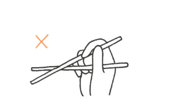 お箸の正しい持ち方