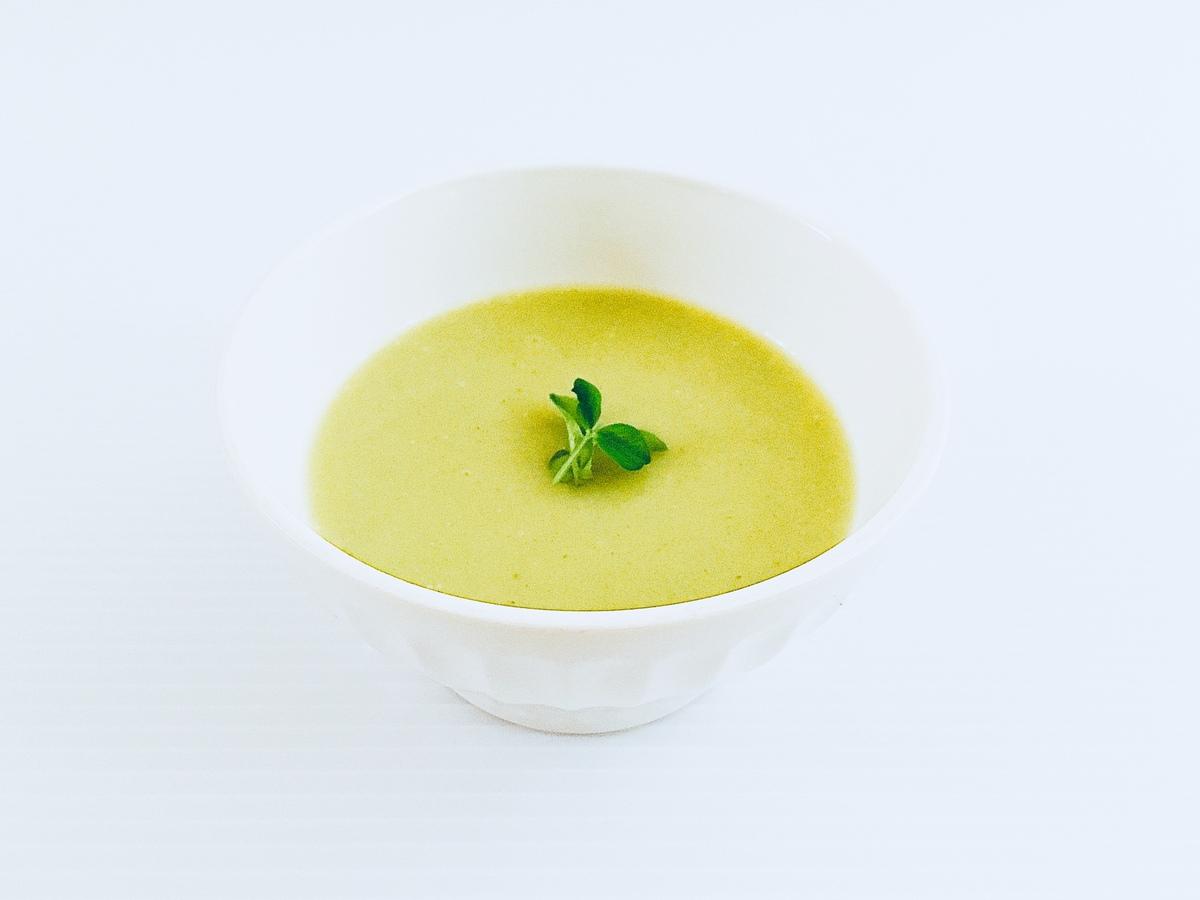 白ネギとじゃがいものスープ