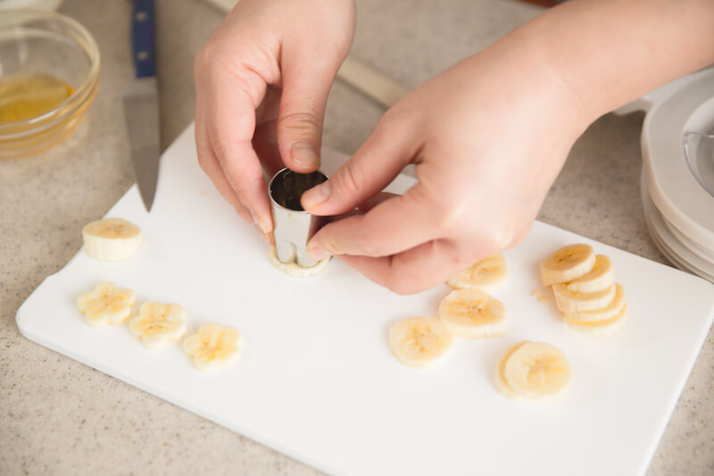 バナナ、型取り